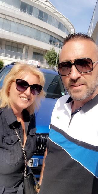 Laurent et karine taxi massilia
